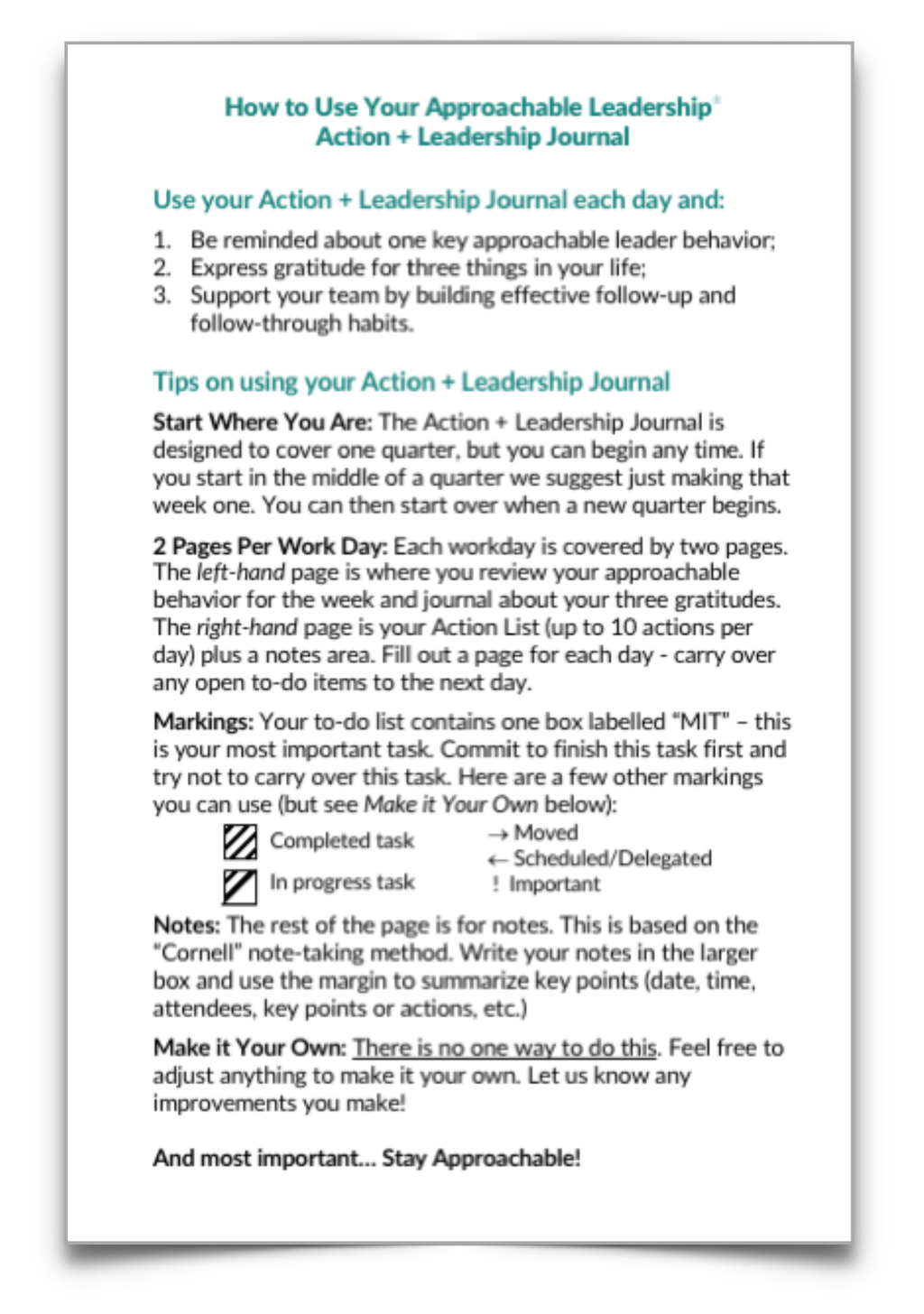 3 questions action leadership journals pay as you go license 3 questions action leadership journals pay as you go license approachable leadership